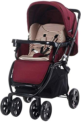 Great Features Of Suge Portable Baby Stroller Baby Carriage Stroller Baby Stroller, Convertible Recl...