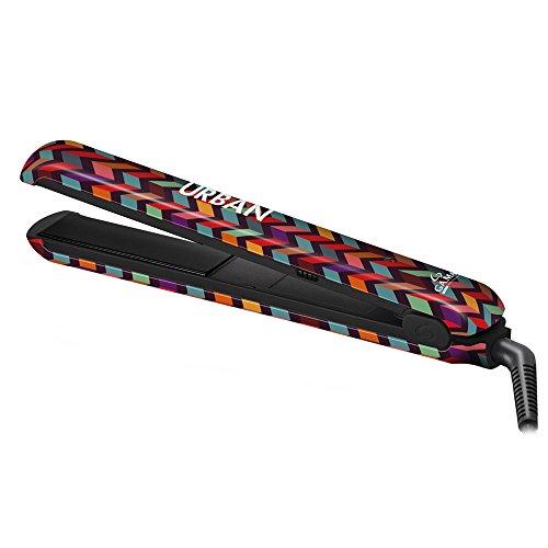 GAMA ITALY PROFESSIONAL Urban Chev - Plancha para el pelo, temperatura siempre ideal 220° C, placas en turmalina