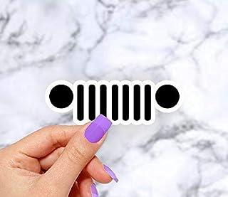 Jeep Logo Laptop Sticker