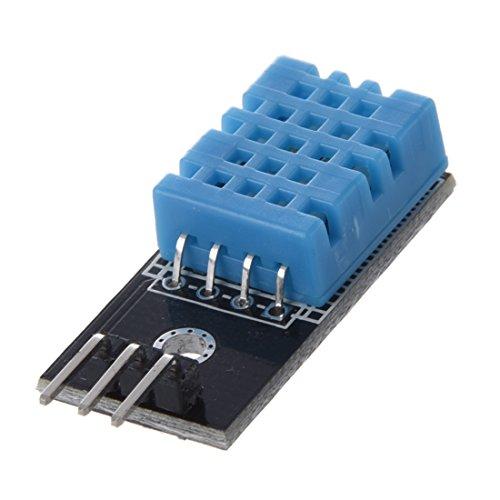 SODIAL(R) 2x DHT11 Temperatura y modulo del sensor de humedad relativa para el cable de 3 pines de Arduino