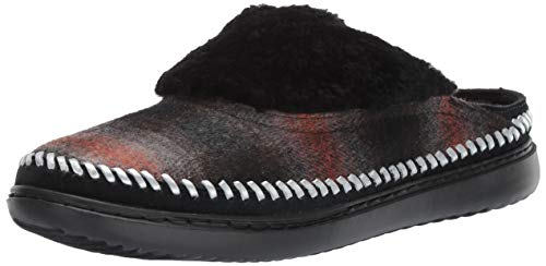 Cole Haan Women's 2.Zerogrand Convertible Slip-ON Loafer, Wool Plaid/CH Argento Leather, 5.5 B US
