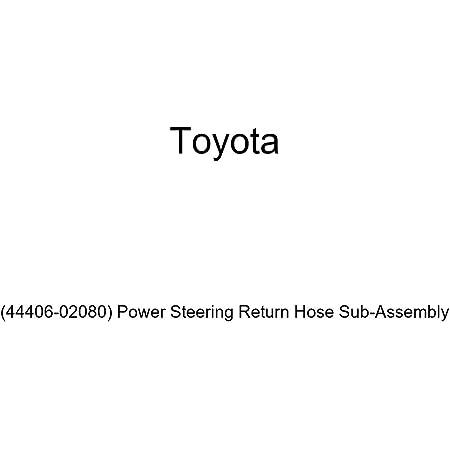Power Steering Return Hose Sub-Assembly Genuine Toyota 44406-02080