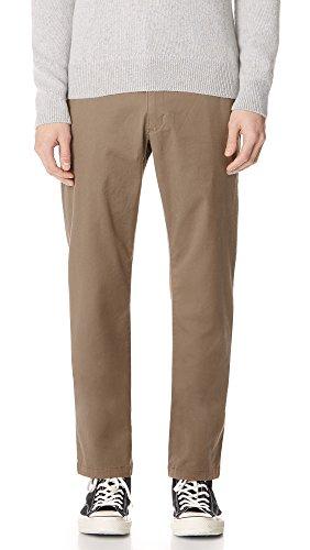 RVCA Men's Week-End Stretch Pants Dark Khaki 36