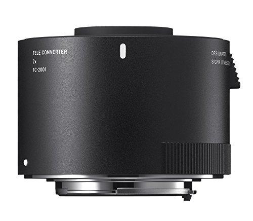 Sigma 2,0-fach Telekonverter TC-2001 für Canon, Schwarz