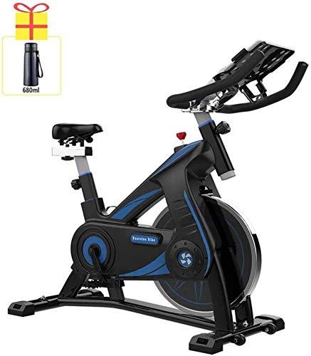 YYhkeby Spinning Bicycle Home Silent Ejercicio Bicicleta Interior Deportes Fitness Equipo de Fitness 200kg de Carga de Carga para el Entrenamiento en casa y Ejercicio aeróbico Jialele