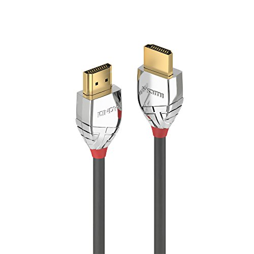 LINDY 37873 3m High Speed HDMI Kabel, Cromo Line, anthrazit