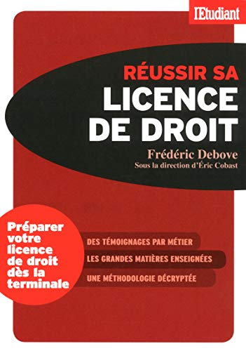Reussir Sa Licence De Droit