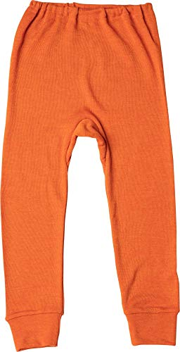 Cosilana Lange Unterhose Wolle/Seide 116 Uni Safran-Orange 29