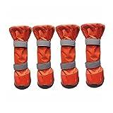 FDHLTR Zapatos Impermeables Para Mascotas En Los Grandes Zapatos Para Perros Botas Altas Universales Botas De Lluvia Golden Retriever Zapatos Para Perros Zapatos Para Mascotas De Comercio Exterior rop