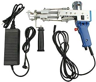 AOUSTHOP Electric Carpet Tufting Gun 12-22 Steps//s 110V Loop Pile,Carpet Weaving Flocking Machine Set High-Speed Electric Punch Needle Machine 9-21mm Rug Tufting Gun Handheld Rug Making Tools