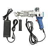 Pistola de mechones, pistola de mechones de alfombras eléctrica, pistola de mechones de alfombras para tejer alfombras a alta velocidad.