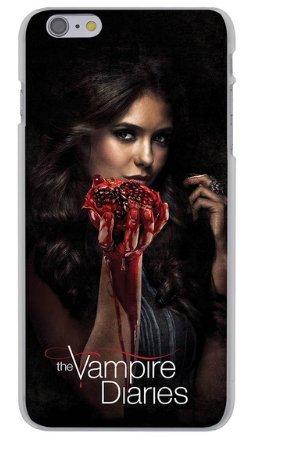 Schutzhülle für iPhone 6/6S Serie Vampire Diaries Katherine Pierce Muschel
