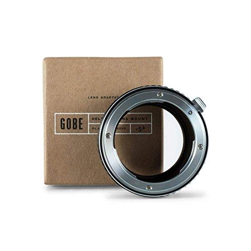 Gobe - Adaptador de Lente Compatible para Lentes Nikon F y cuerpos de cámara Micro Cuatro Tercios (M4/3)