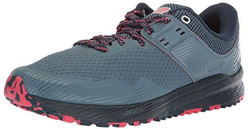 New Balance Nitrel v2, Zapatillas de Running Mujer, Turquesa (Light Petrol/Galaxy/Blossom Lg2), 40 EU