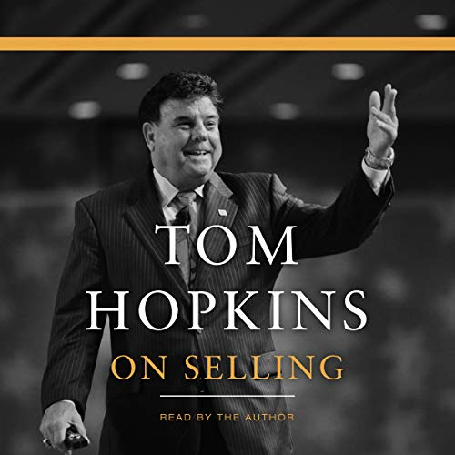 Tom Hopkins on Selling audiobook cover art