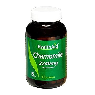 HealthAid Chamomile 2240mg 60 Vegetarian Tablets