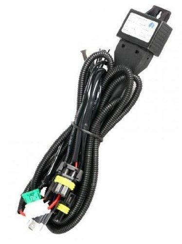 Zenex H4 H/L Bi-Xenon HID Kit Wire Relay Harness