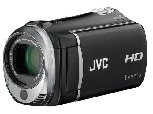 JVC GZ-HM 330 BEU Full-HD SD-Card-Camcorder (SD/SDHC-Kartenslots, 30-Fach optisher Zoom, 6,9 cm Display, 8GB interner Speicher, USB 2.0) schwarz