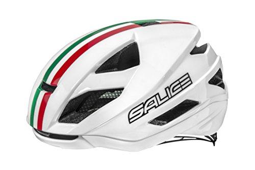 SALICE Casco Bike TG. 56-62 Bianco Italia Unisex Adulto