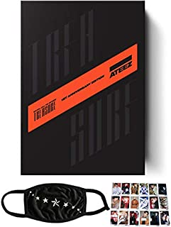 ATEEZ - Treasure EP.FIN : All to Action 1st Anniversary Edition Album+CD+Photo Booklets+Sticker+ Photo cards+Treasure Card+Treasure Film+ Folded Poster+Polaroid+Kpop Idol+Extra Photo cards