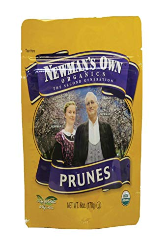 Newman's Own Organic Pitted Prunes Bag 6 oz. (Case of 12)