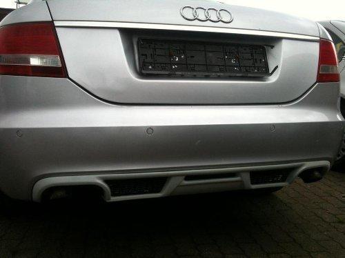 Audi A6 C6 RS6 4F Limousine 2004-08 Heckdiffusor S Line Spoiler Heckansatz