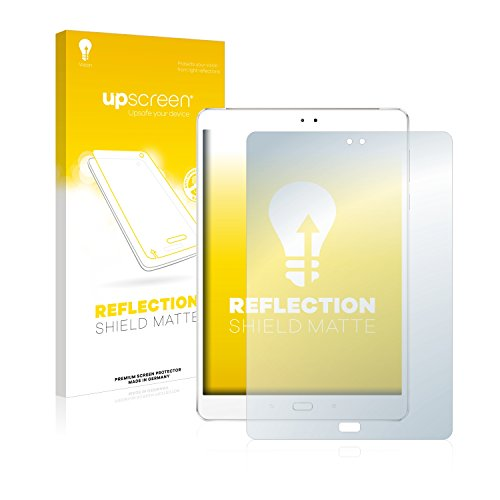 upscreen Entspiegelungs-Schutzfolie kompatibel mit Asus ZenPad 3S 10 Z500M – Anti-Reflex Bildschirmschutz-Folie Matt