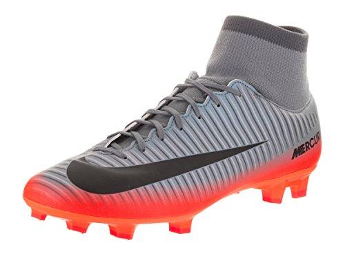 Nike Herren Mercurial Victory VI CR7 DF FG Fußballschuhe, Grau (Cool Grey/MTLC Hematite-Wolf Grey-total), 45.5 EU