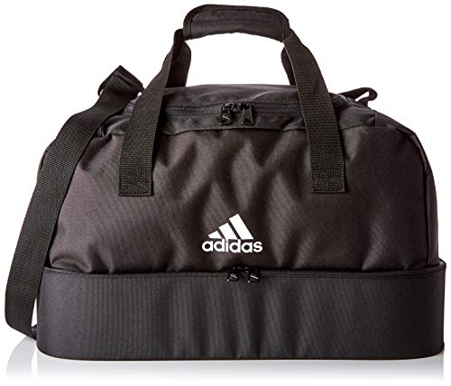 adidas Duffelbag Tiro Bottom Compartment S, Black/White, One Size, DQ1078