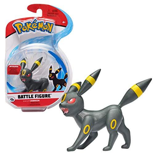 Pokémon Battle Figure Umbreon, 5 cm große Figur, neueste Welle 2021, offiziell von Pokemon lizenziert