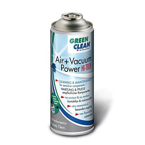 GREEN CLEAN G-2051 Air und Vacuum Power Hi Tech 400ml Airduster für Dusting Tools weiß