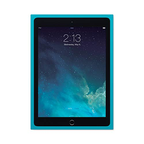 Logitech BLOK Protective Shell Case for iPad Air 2 - Teal/Blue (Renewed)