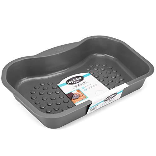 Lay-Z-Spa BWA0011 Fußbadewanne, Zubehör für Whirlpools und Spa-Pools, rutschfest, Robustes Design