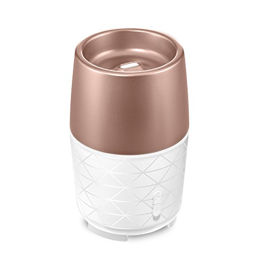Ellia, Transcend Ultrasonic Essential Oil Diffuser | Soothing Humidity, Color-Changing Light, Compact & Durable | 10 Hours Continuous Runtime, 20 Hours Intermittent Runtime