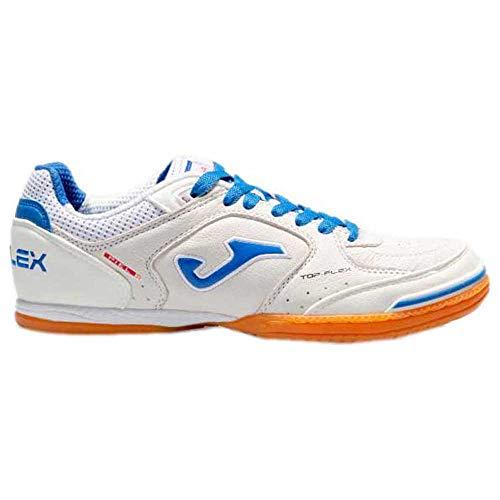 Joma Top Flex, Zapatillas de Futsal Hombre, Blanco, 44 EU