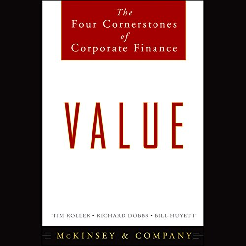 Couverture de Value: The Four Cornerstones of Corporate Finance