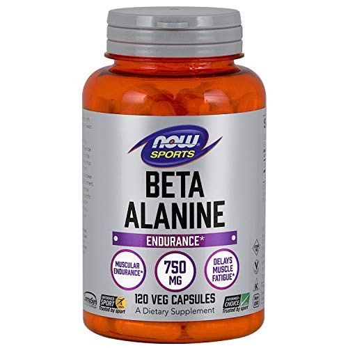 Now Foods Beta Alanine 750Mg (120), 130 G