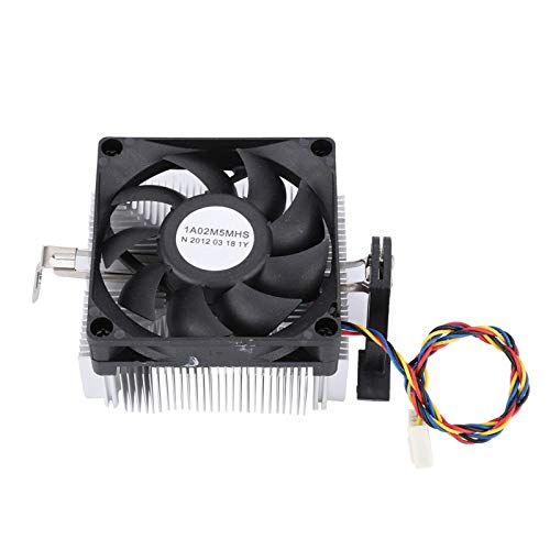 Mothinessto Enfriador de CPU Ventilador de enfriamiento de CPU Ventilador de CPU de Alta Velocidad AMD CPU Cooler para computadora de Escritorio para computadora