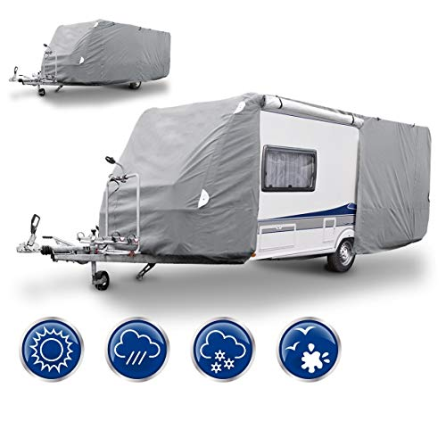 ECD Germany Funda caravana automóvil   M 520 x 225
