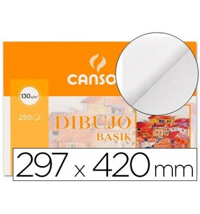 Canson 402766 - Papel para dibujo, 250 hojas