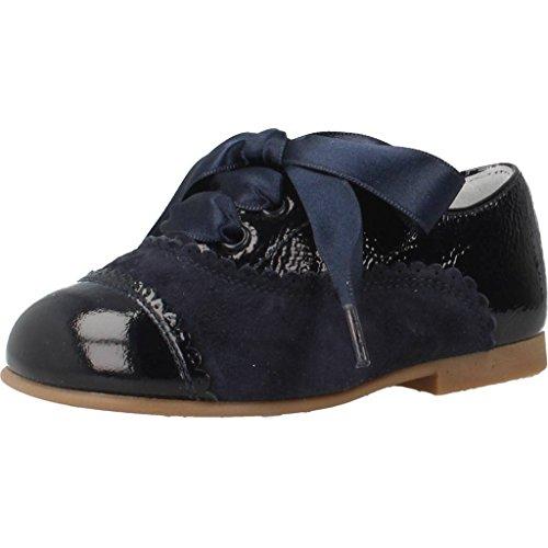 Landos Zapatos Cordones 30Z143 para Niñas Azul 18 EU