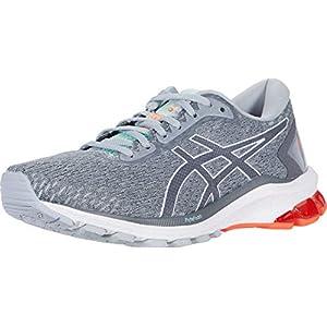 ASICS Women's GT-1000 9 Running Shoes, 7.5, Piedmont Grey/Metropolis