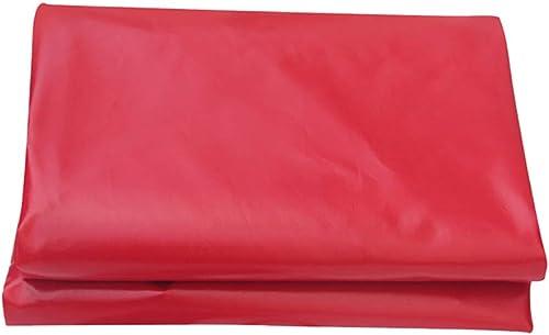 Bache de Prougeection Lourde PVC Rouge Enduit Tissu Imperméable à l'eau De Pluie Toit Toit Parasol Couverture Pluie Célébration 450   (Taille   4x4m)