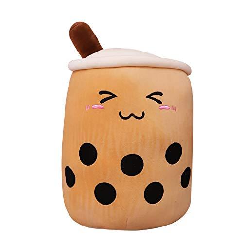 Bciou - Taza de té con diseño de burbujas de dibujos animados con bebidas de moda
