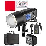 [国内正規代理店] Godox AD400Pro 400W GN72 TTL 1/8000 HSS 2.4G フラッシュ ストロボ ライト [1年保証/日本語説明書/クロス付/セット品] (AD400Pro)