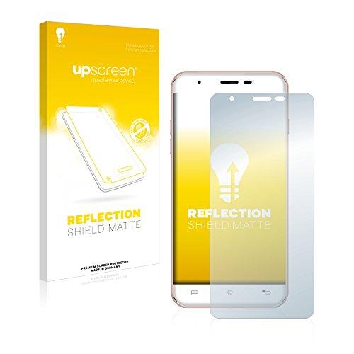 upscreen Entspiegelungs-Schutzfolie kompatibel mit Oukitel U7 Max – Anti-Reflex Bildschirmschutz-Folie Matt