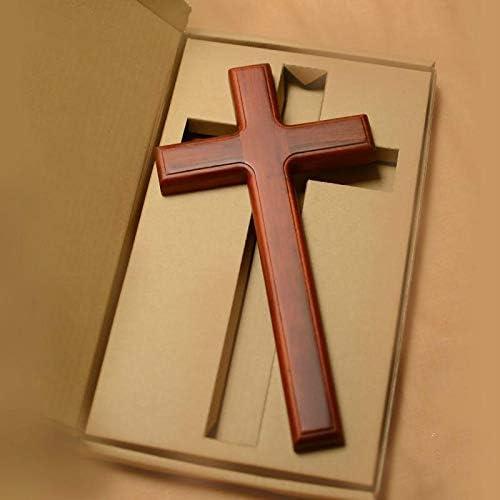 Christian Decor Tree Fraxinus Mandshurica low-pricing Albuquerque Mall Solid Cross Mahog Wood