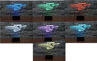 Star Trek USS Enterprise Touch Switch 3D Acrylic LED Night Light Desk Lamp New