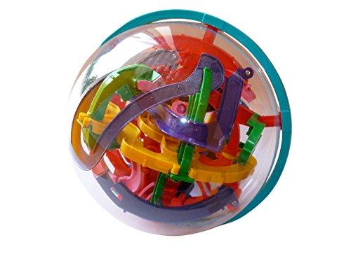 ERRO Puzzle de bola de 20 cm – Gran idea de regalo para niños, entrenamiento de habilidad, 3D Maze, Spin Master, Addict a Ball, rompecabezas, laberinto de bolas