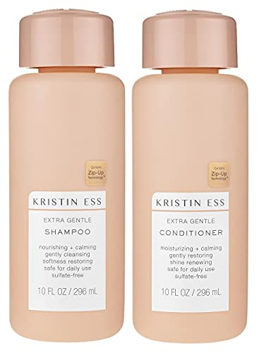Kristin Ess Extra Gentle Shampoo & Conditioner Set, 10 fl. oz. each